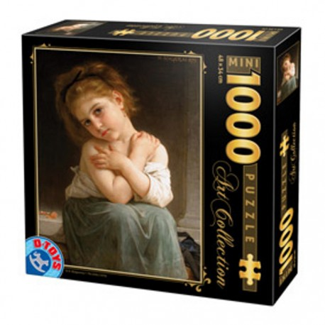 PUZZLE D-TOYS - Art Collection - Chilly girl AM02 1000 dílků